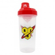 Шейкер BSN SHAKER BOTTLE 750 ML BSN CLEAR/RED