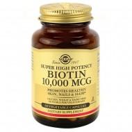 Solgar Biotin 10,000 mcg - 60 растительных капсул