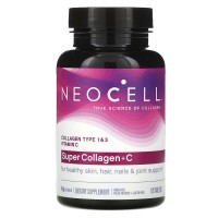 NeoCell Super Collagen + C - 120 таблеток