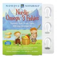 Nordic Naturals Nordic Omega-3 Fishies yummy tutti frutti taste - 36 рыбок