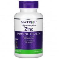 Natrol Zinc immune health - 60 жевательных таблеток