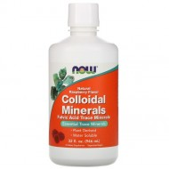Now Foods Colloidal Minerals малина - 946 мл