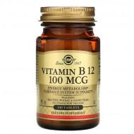 Solgar Vitamin B 12 100 mcg - 100 таблеток