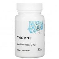 Thorne Research Zinc Picolinate 30 mg - 60 капсул