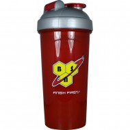 Шейкер BSN SHAKER BOTTLE 750 ML BSN RED/GREY