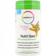 Rainbow Light Nutri Stars Multivitamin фруктовый вкус - 120 жевательных таблеток