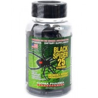 Black spider 25 Ephedra original (100 капсул)