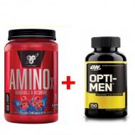 Комплект BSN –Amino x 70 порций + Optimum Opti-men 150 табл