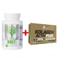 Комплект Universal daily formula 100 + Olimp Kolagen Activ Plus 80 tabl