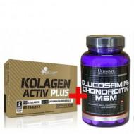 Olimp Kolagen Activ Plus + Glucosamine Chondroitin MSM (90 таблетс)  (431720)