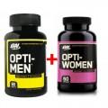 Optimum nutrition - Opti men 90табл + Opti Women 60капс (912553)
