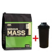 Optimum nutrition Serious Mass (5.4 кг) + ШЕЙКЕР  (431799)
