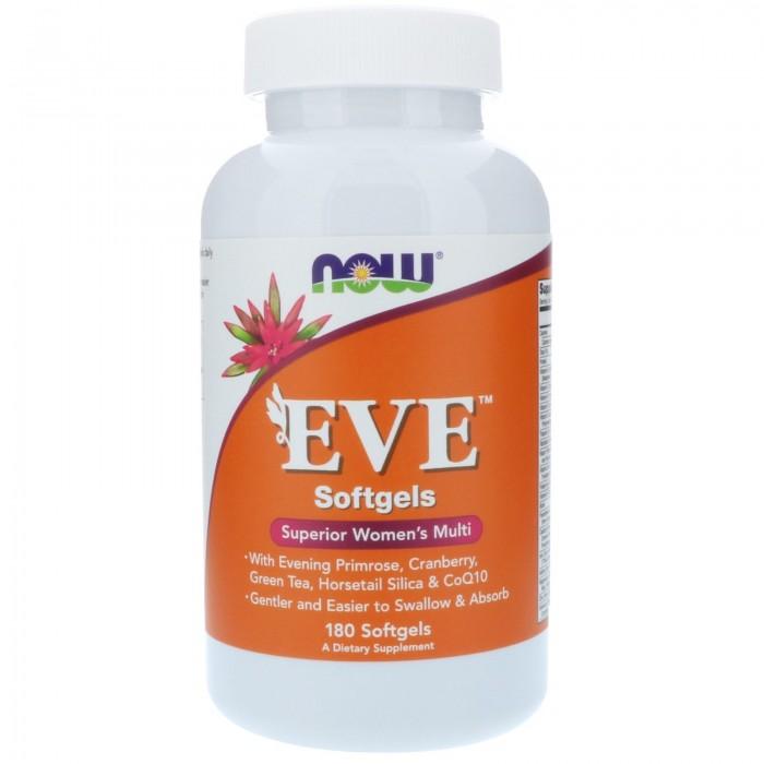 Now Eve Women's Multiple Vitamin Softgels 180 caps