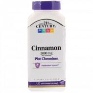 Cinnamon 2000 mg Plus Chromium (120 капсул)