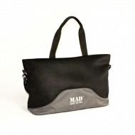 Женская спорт сумка MAD Lattice Серая (23 л)