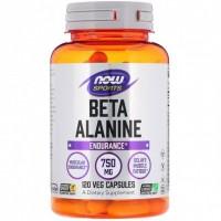 Beta-Alanine 750 мг (120 капсул)