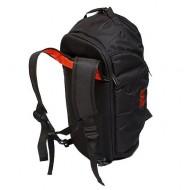 Сумка-рюкзак MAD Infinity Черная на красной подкладке (40 л)