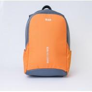 Рюкзак MAD Booster Серо-оранжевый RBO9010 (20 л)