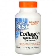 Collagen Types 1&3 1000 мг (180 таблеток)