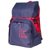 Рюкзак MAD Urban Сине-красный (22 л)