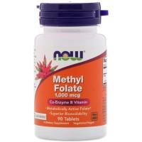 METHYL FOLATE 1,000 mcg 90 таблеток