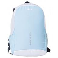 Рюкзак антивор MAD Booster rbo7040  Бело-голубой (20 л)