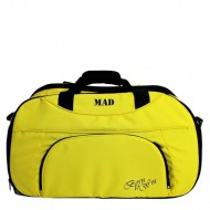 Женская спорт сумка MAD Blaze Желтая (30 л)