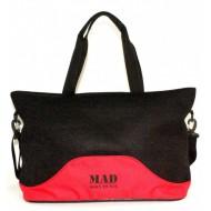 Женская спорт сумка MAD Lattice Красная (23 л)