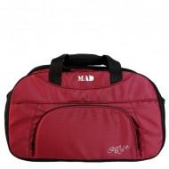 Женская спорт сумка MAD Blaze Бордовая (30 л)