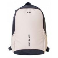 Рюкзак MAD Booster Черно бежевый RBO8021 (20 л)