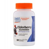 Elderberry Vitamin C and Zinc (60  Конфет)