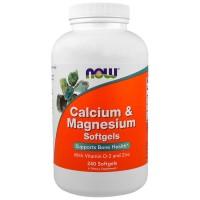 Calcium & Magnesium Softgels 240 Капсул