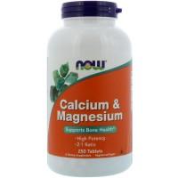 Calcium & Magnesium 500/250mg 250 Таблеток