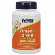 Omega 3-6-9 1000 mg (100 капсул)