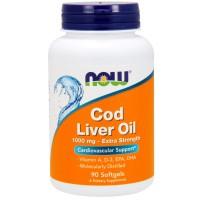 Cod Liver Oil 1000 mg Softgels (90 Таблеток)
