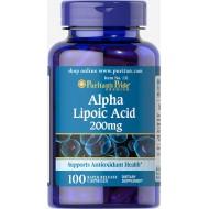 Alpha Lipoic Acid 200 mg (100 капсул)