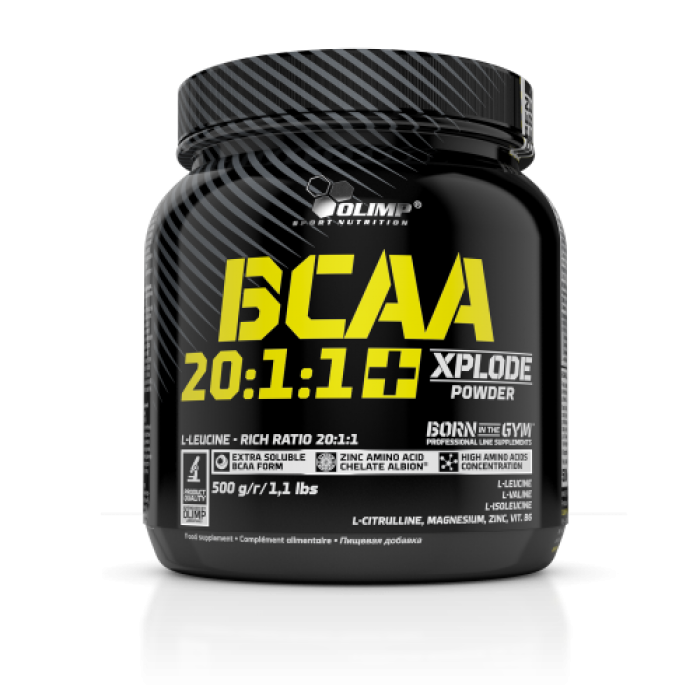 BCAA 20:1:1 + Xplode Powder (500 грамм)