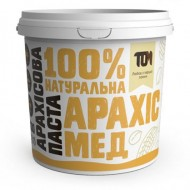 АРАХИСОВАЯ ПАСТА С МЕДОМ (1000 грамм)