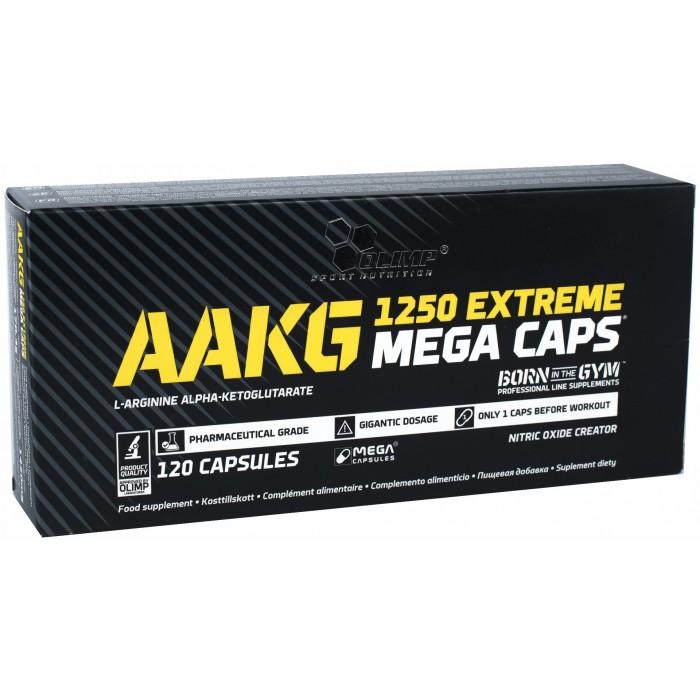 AAKG 1250 Extreme Mega Caps (120 капсул)