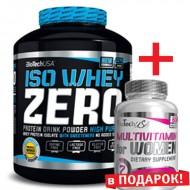 Iso Whey Zero 2270 грамм + Multivitamin for Women 60 табов в ПОДАРОК!
