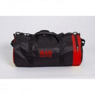Спортивная сумка MAD 40L черно-красная