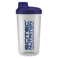 Shaker Scitec Прозрачный+синий NEON  (700 мл)