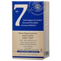 Хондропротектор Solgar No.7 Joint Support Комплекс комфорт и поддержка суставов 30 капсул