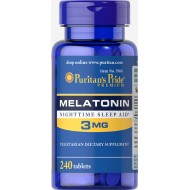 Melatonin 3 mg (240 таблетс)