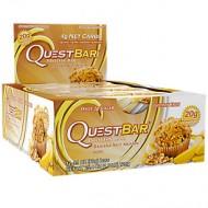 Блок батончиков Quest Protein Bar банан ореховый мафин (60 грамм) - 12 шт