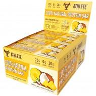 Блок батончиков - 12 шт Protein Bar Athlete Genetics (70 грамм) ананас