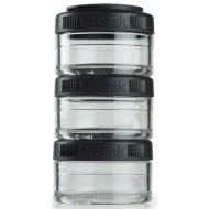 Контейнер BlenderBottle GoStak 3 Pak 100cc Black