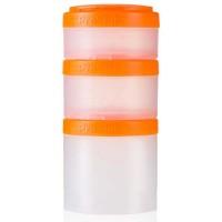 Контейнер BlenderBottle Expansion Pak прозрачный/оранжевый