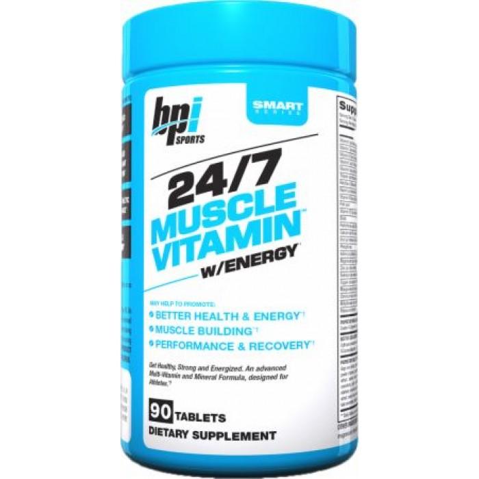 24/7 Muscle Vitamin w/energy (90 таблетс)