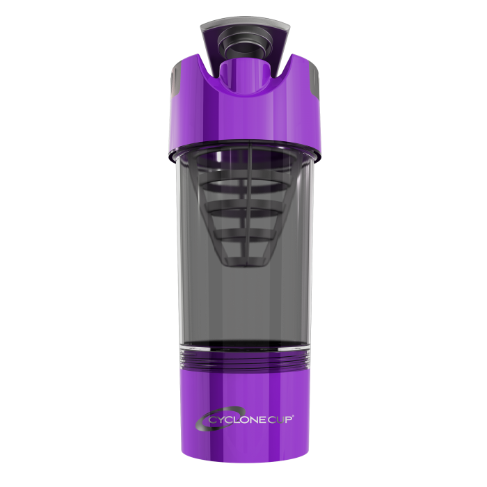 Shaker Cup 20 oz + 6 oz container (Purple)